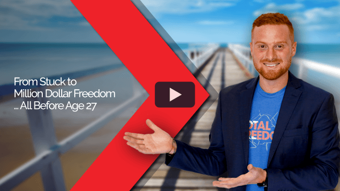 From Stuck to Million Dollar Freedom … All Before Age 27